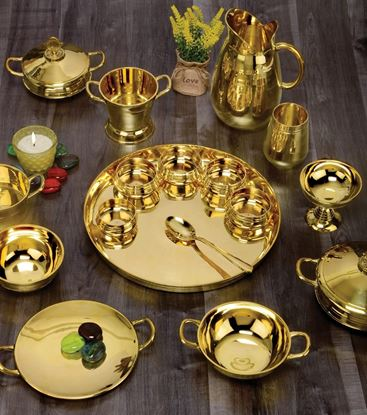 Picture for category BRASS CROCKERY